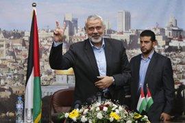 Haniyeh expresa su apoyo a los presos palestinos en huelga de hambre indefinida en cárceles de Israel