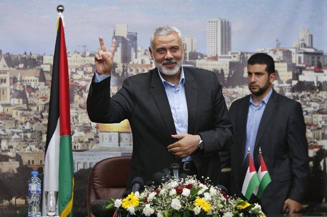 Ismail Haniyeh, líder del brazo político de Hamás