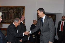 El Rey Felipe VI preside este martes en Yuste la entrega del Premio Europeo Carlos V a Marcelino Oreja