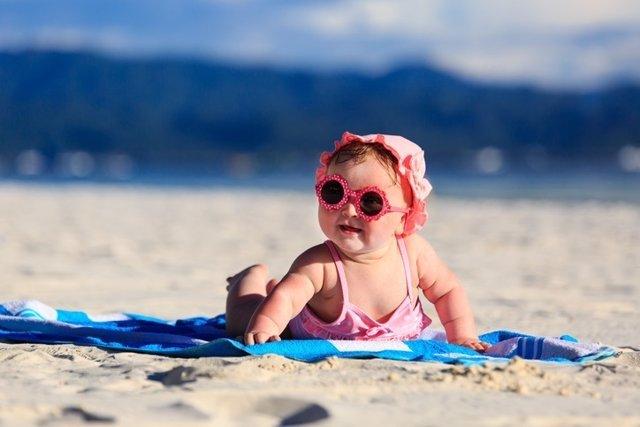 Bebé gafas