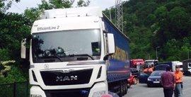 Imputado un camionero en Narbarte (N-121-A) por multiplicar por siete la tasa de alcoholemia