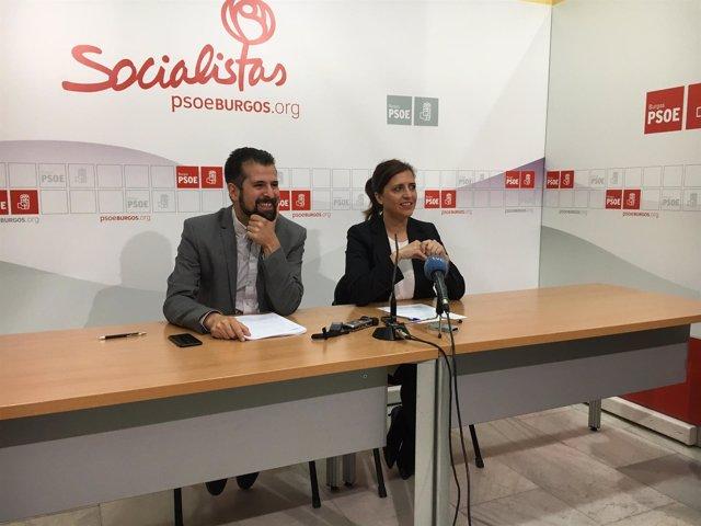 Burgos. Tudanca y Peña presentan las enmiendas al presupuesto
