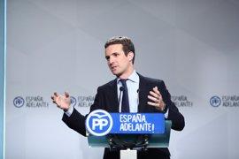 """Martínez-Almeida ve en Casado un """"extraordinario político"""", pero añade que próximo candidato a Alcaldía es """"lo de menos"""""""