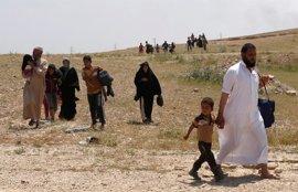 La ofensiva sobre el oeste de Mosul deja ya más de 400.000 desplazados