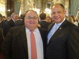 La Casa Real y Costa Rica reconocen la labor del Involcan