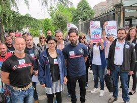 Personal de emergencias exige diálogo con los trabajadores del 112
