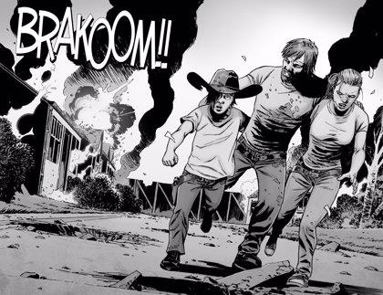 The Walking Dead: ¿Revela una imagen filtrada de la 8ª temporada una gran batalla entre Negan y Rick?