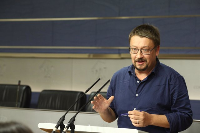 Xavier Domènech, portavoz de En Comú