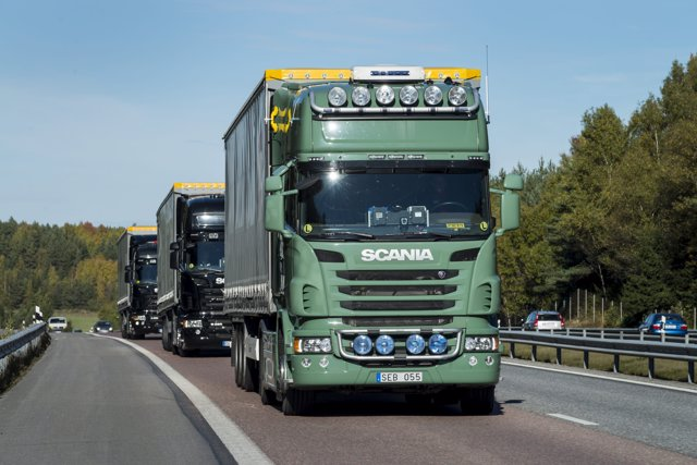 Convoy de Scania