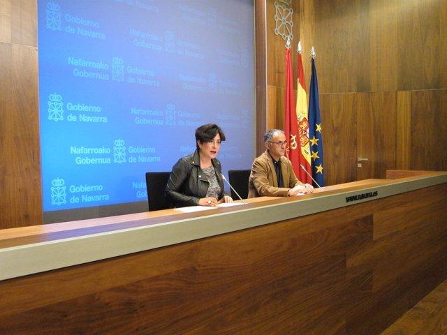 María Solana y Ander Domblás.