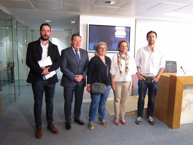 Presentación proyectos europeos