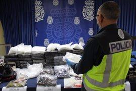 Intervenidos 22 kilos de cocaína en una operación con diez detenidos en Sevilla, Huelva y Cádiz