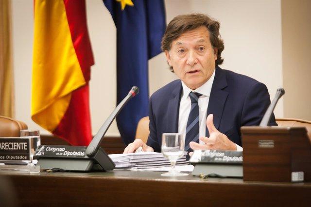 José Ramón Lete en el Congreso