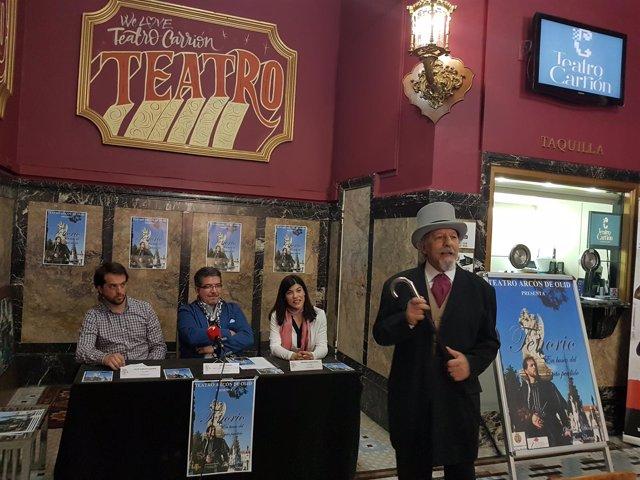 El Tenorio, en el Teatro Carrión de Valladolid.