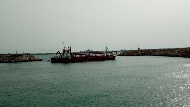 El dragado del puerto de Rota