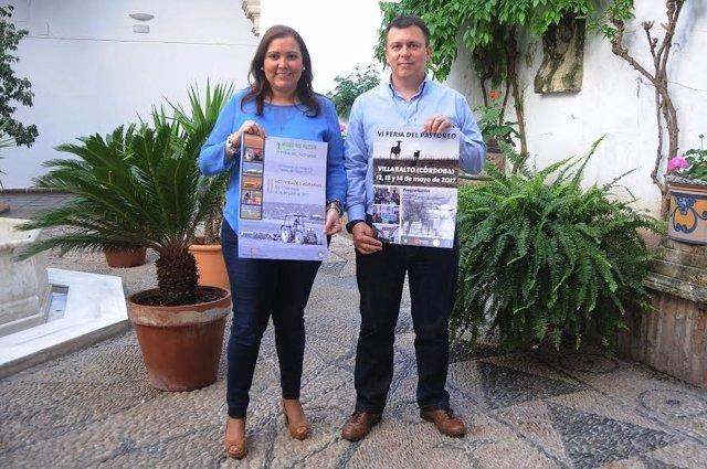 Carrillo y Gómez presentan el cartel de la VI Feria del Pastoreo