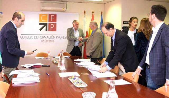 Comisión Permanente del Consejo de FP de Cantabria
