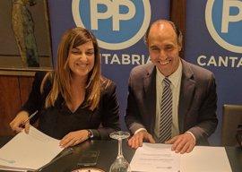 'Génova' remite al comité de garantías del PP de Cantabria la denuncia de los afines de Diego