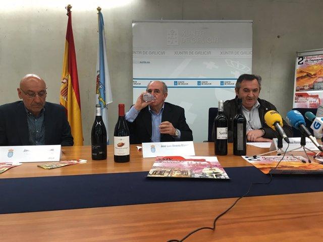 Presentación de la Mostra de Pantón en Lugo