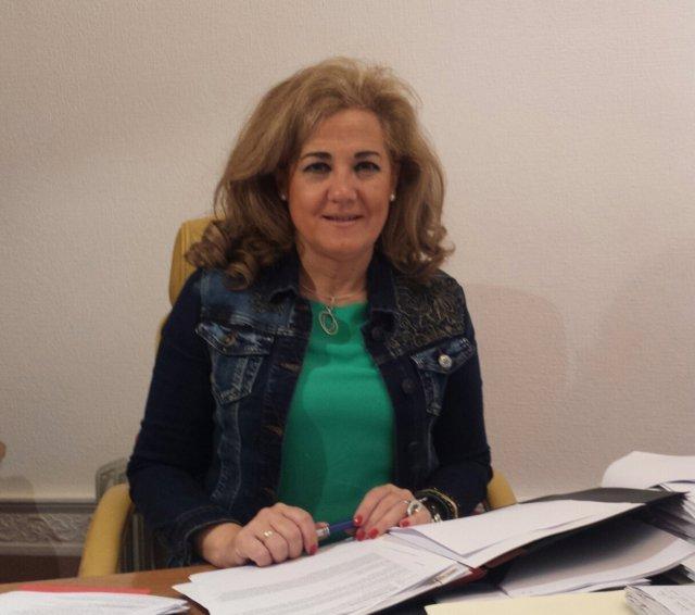 Carmen Herrera, alcaldesa de Castilleja de la Cuesta.
