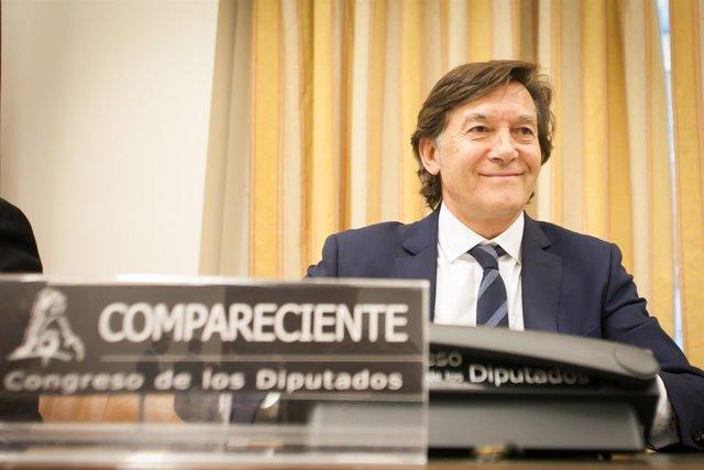José Ramón Lete, en el Congreso