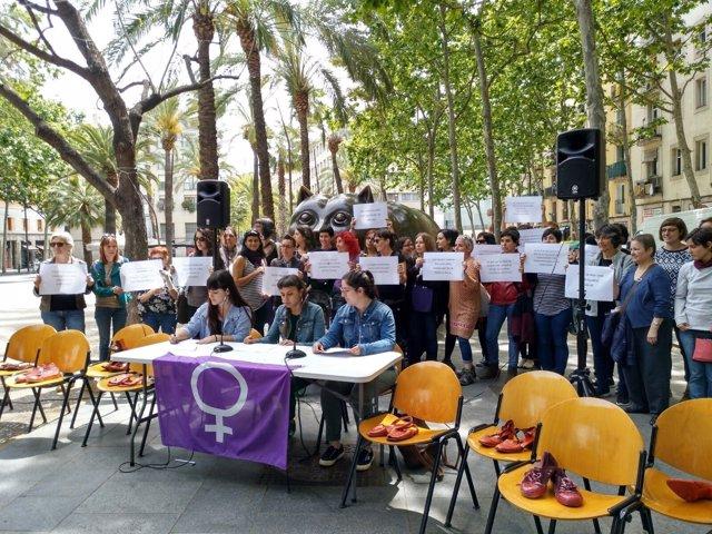 Presentación de la campaña contra los feminicidios