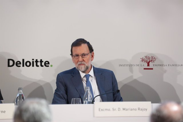 Rajoy clausura la Asamblea Anual de Socios del Instituto de la Empresa Familiar