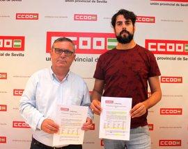 """PGE.- CCOO achaca a Rajoy un """"déficit"""" inversor de 1.182 millones y la no creación de 43.600 empleos"""