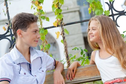 El primer amor en los adolescentes