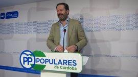 """Adolfo Molina asegura que afronta la nueva etapa en el PP de Córdoba con el fin de lograr un partido """"más fuerte y unido"""