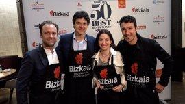 """Bizkaia acogerá en 2018 la gala de los 50 mejores restaurantes del mundo, """"The World's 50 Best Restaurants"""""""