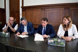 El Ayuntamiento de Santa Cruz aportará 15.000 euros a la divulgación, reparación y mantenimiento del Correíllo La Palma