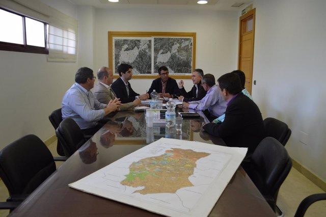 Reunión alcaldes Sierra de las Nieves
