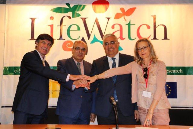Celebración de la asamblea del proyecto europeo LifeWatch en la CHG