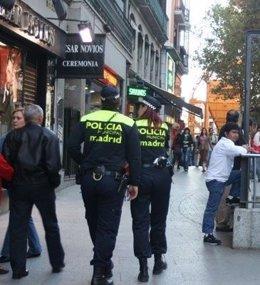 Agentes de la Policía Municipal de Madrid