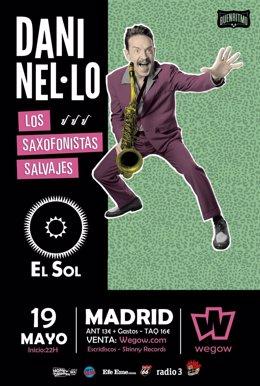 DANI NEL-LO EN MADRID