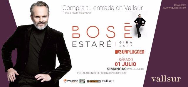Concierto Miguel Bosé Vallsur