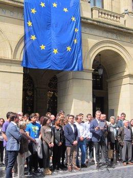 Acto con motivo del Día de Europa.