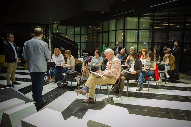 Rueda de prensa para presentar The Story Lab en España
