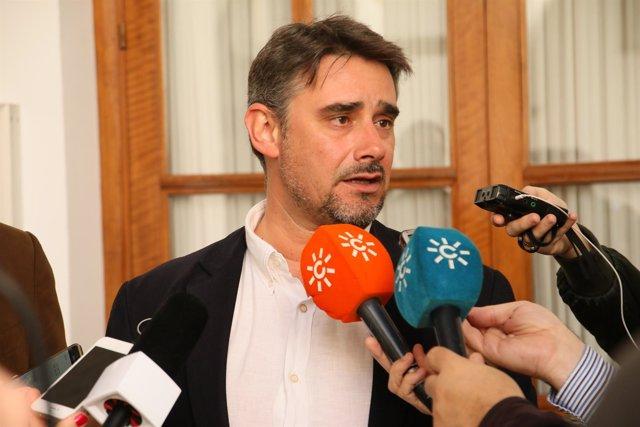 El diputado de Podemos Andalucía Juan Ignacio Moreno Yagüe