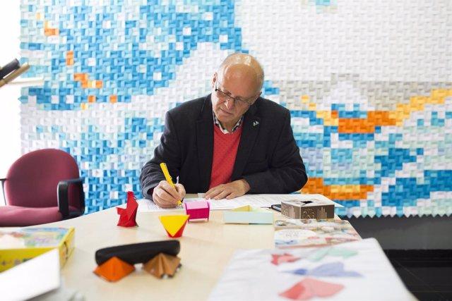 La Obra Social de Ibercaja colabora con la Escuela Museo Origami de Zaragoza
