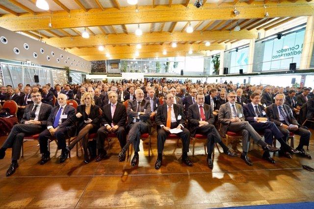 Empresarios reivindican en Murcia el Corredor Mediterráneo