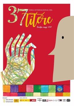 Cartel de la 37 edición de la Feria Internacional del Títere