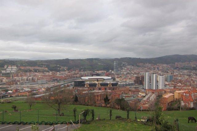 Bilbao nubes