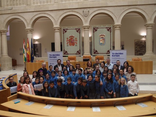 Entrega de premios de Europa en el Parlamento