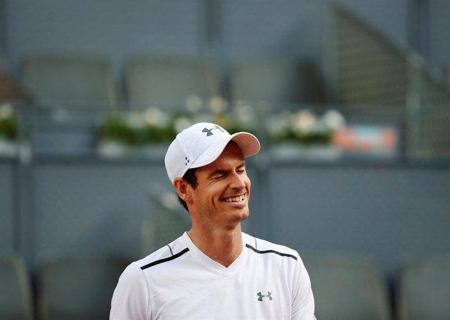 Andy Murray en la Caja Mágica
