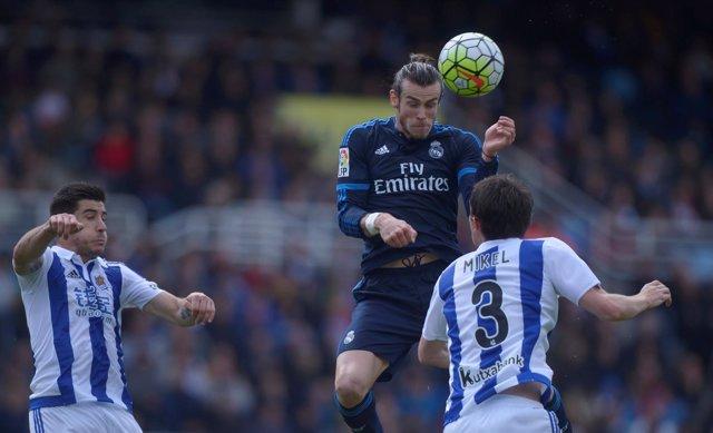 Gareth Bale Real Madrid Real Sociedad