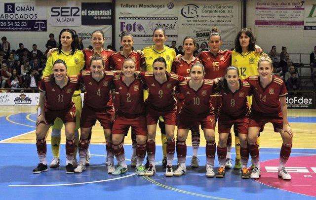 Selección española femenina de fútbol sala