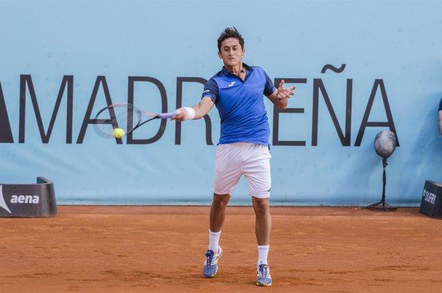 Nicolás Almagro en el Mutua Madrid Open 2016