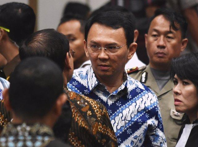 El gobernador de Yakarta, Basuki Tjahaja Purnama, alias 'Ahok'